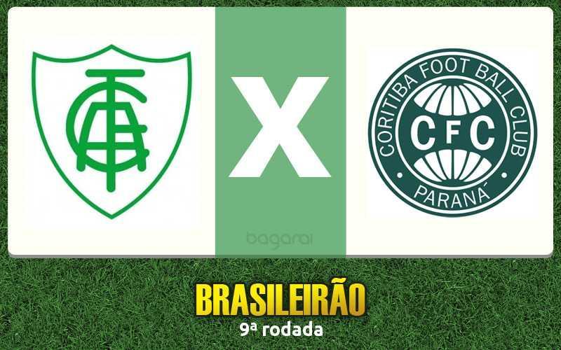 América-MG ganha do Coritiba pelo Campeonato Brasileiro 2016