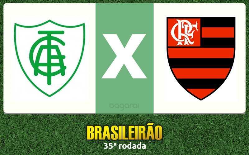 Campeonato Brasileiro 2016: Flamengo ganha do América-MG por 1 a 0