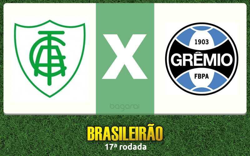Sem gols, América-MG e Grêmio empatam pelo Brasileirão 2016