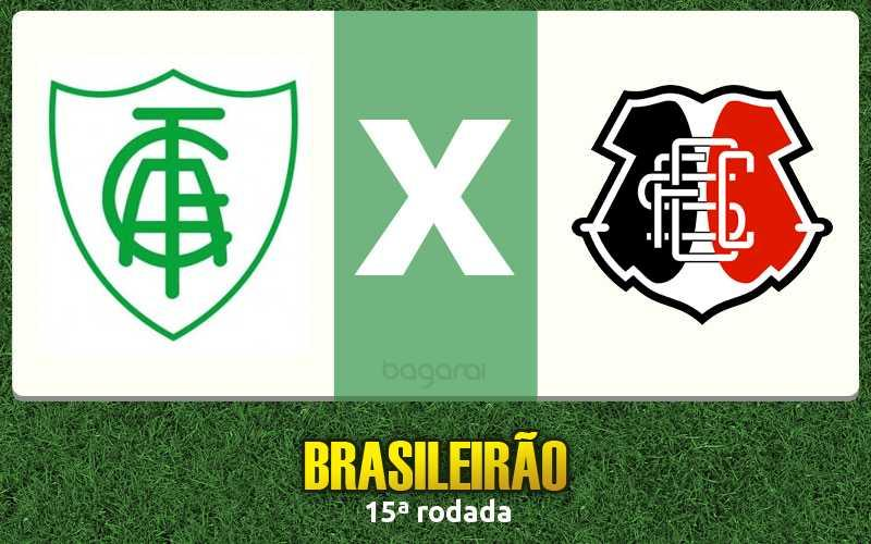 Campeonato Brasileiro 2016: Santa Cruz faz 3 no América-MG