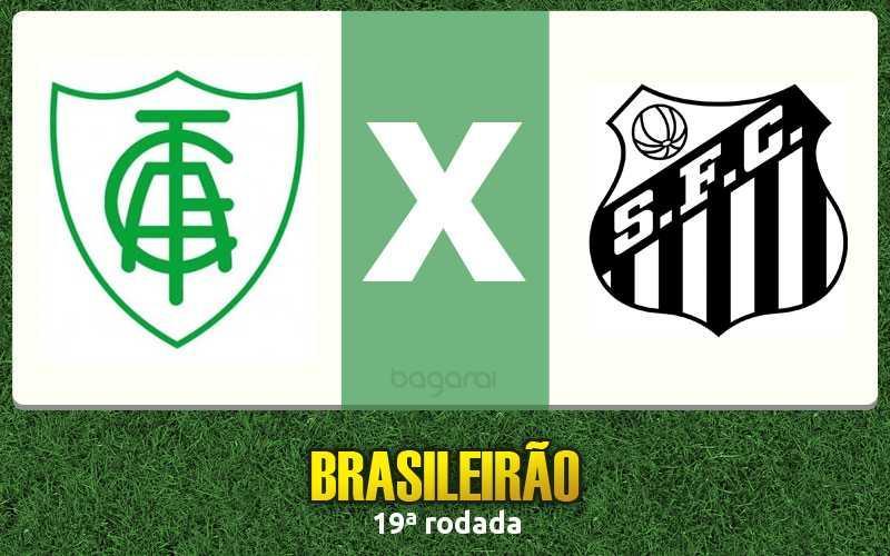 Campeonato Brasileiro 2016: América-MG vence Santos pela 19ª rodada
