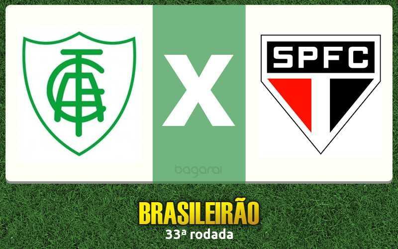 Campeonato Brasileiro 2016: América-MG vence São Paulo FC pela 33ª rodada