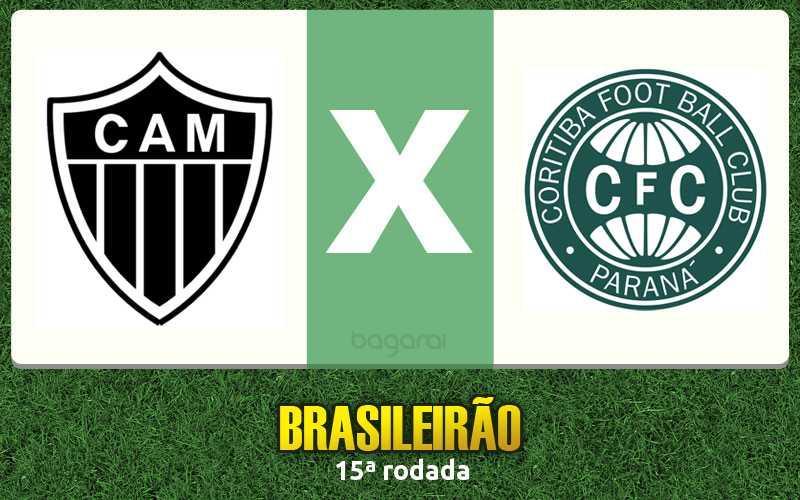 Brasileirão 2016: Atlético Mineiro vence Coritiba pela 15ª rodada