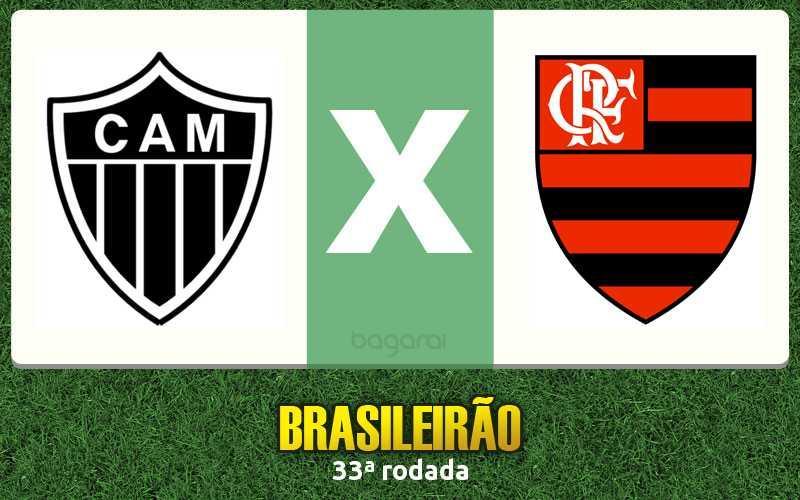 Brasileirão 2016: Atlético Mineiro e Flamengo empatam em 2 a 2