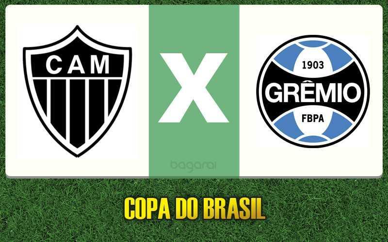 Copa do Brasil 2016: Grêmio faz 3 a 1 no Atlético Mineiro