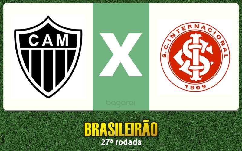 Campeonato Brasileiro 2016: Atlético Mineiro vence Internacional por 3 a 1