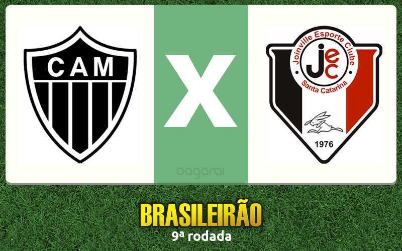Resultado do jogo: Atlético Mineiro ganha do Joinville pelo Brasileirão 2015