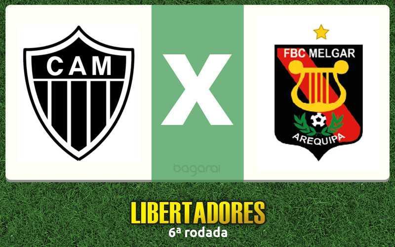 Libertadores 2016: Atlético Mineiro goleia Melgar, Resultado do jogo