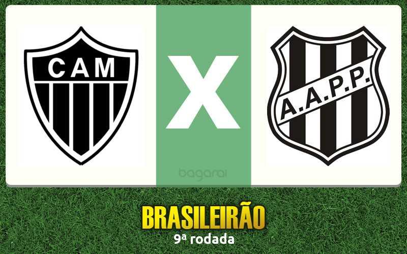 Atlético Mineiro ganha da Ponte Preta pela 9ª rodada do Campeonato Brasileiro 2016