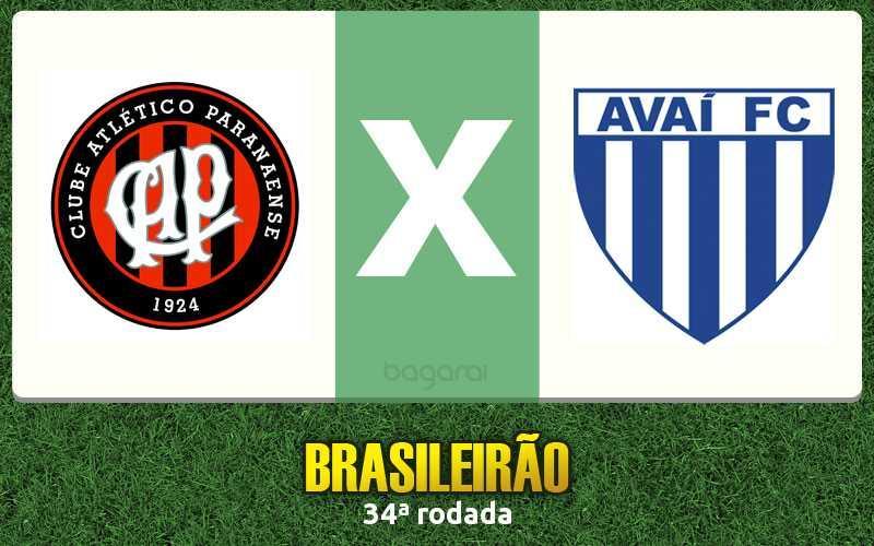 Atlético Paranaense vence Avaí pela 34ª rodada do Campeonato Brasileiro 2015