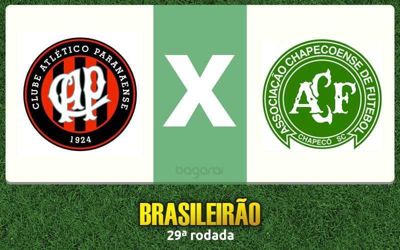 Campeonato Brasileiro 2016: Atlético Paranaense faz 3 a 1 no Chapecoense