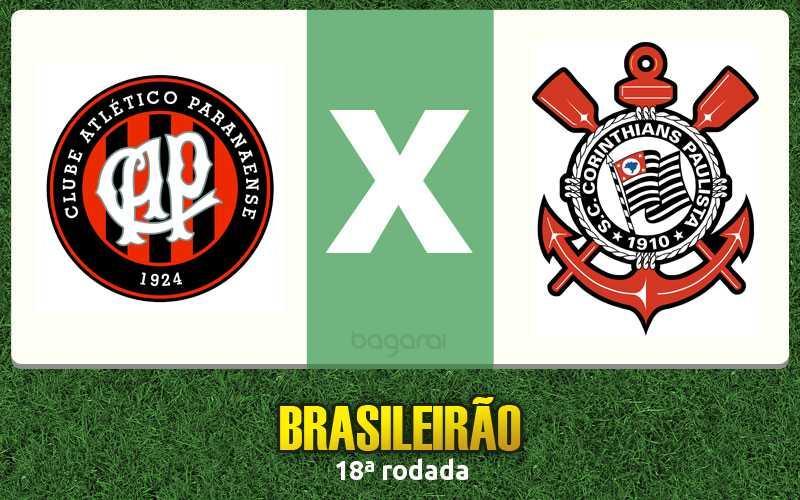 Campeonato Brasileiro 2016: Atlético Paranaense marca 2 no Corinthians pela 18ª rodada