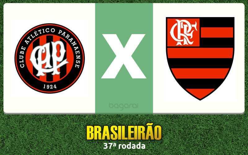 Atlético Paranaense fez 3 no Flamengo pela 37ª rodada do Brasileirão 2015