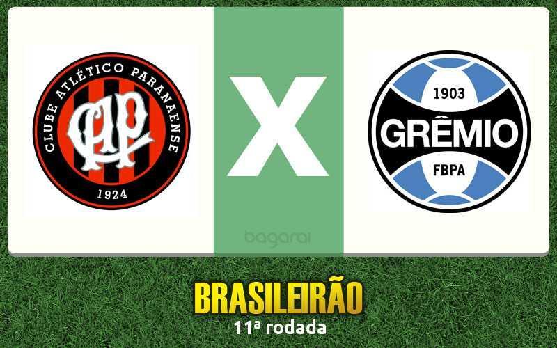 Atlético Paranaense faz 2 no Grêmio pelo Brasileirão 2016