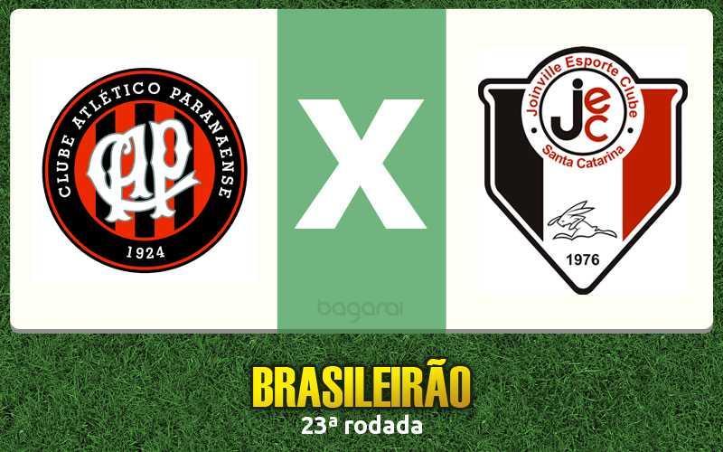 Atlético Paranaense e Joinville fica no 0 a 0 pela 23ª rodada do Campeonato Brasileiro 2015