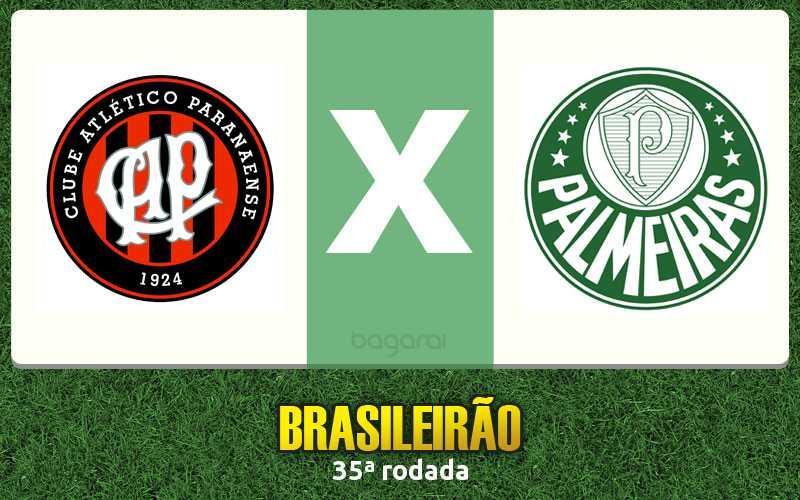 Resultado do jogo: Atlético Paranaense e Palmeiras empataram pelo Brasileirão 2015