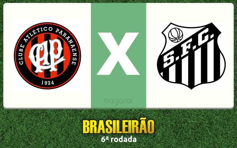 Campeonato Brasileiro 2017: Santos vence Atlético Paranaense por 2 a 0