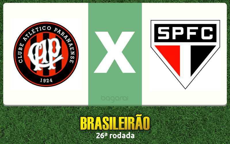 Brasileirão 2016: Atlético Paranaense marca e vence São Paulo FC, Resultado do jogo