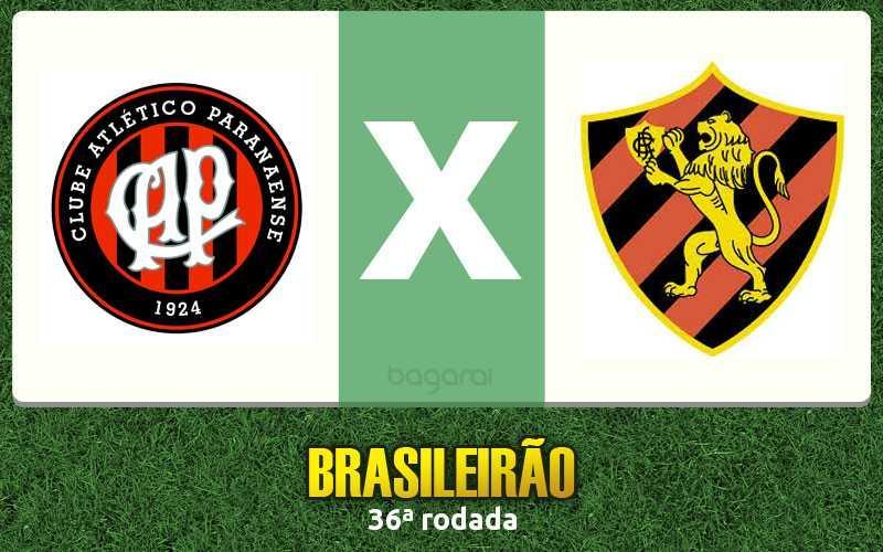 Atlético Paranaense faz 2 no Sport pela 36ª rodada do Brasileirão 2016