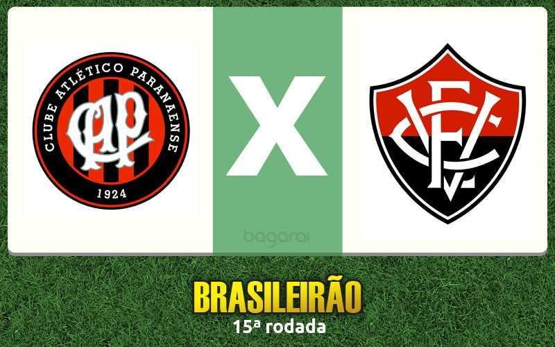 Atlético Paranaense e Vitória empatam pelo Brasileirão 2016