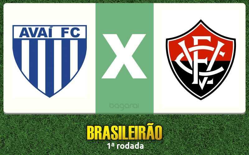 Brasileirão 2017: Avaí e Vitória empatam no 0 a 0