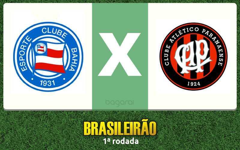 Bahia vence Atlético Paranaense por 6 a 2 no Campeonato Brasileiro 2017