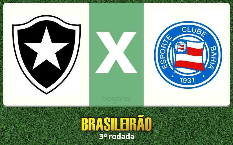Botafogo venceu Bahia pela 3ª rodada do Brasileirão 2017