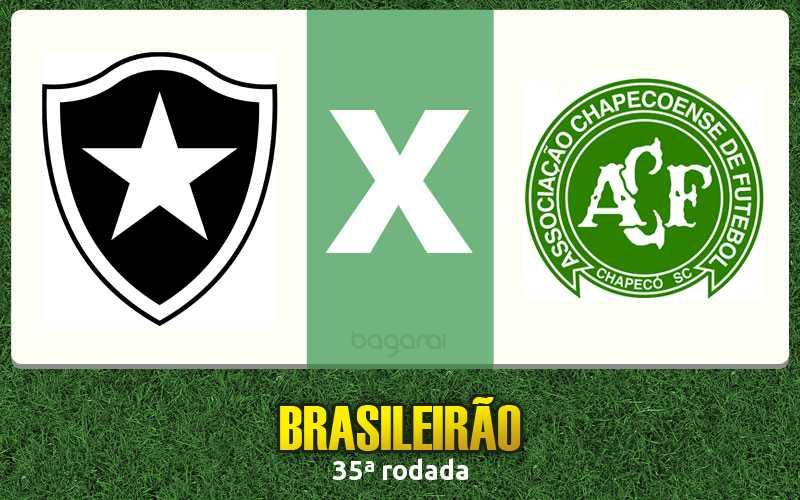 Botafogo toma 2 do Chapecoense pelo Brasileirão 2016
