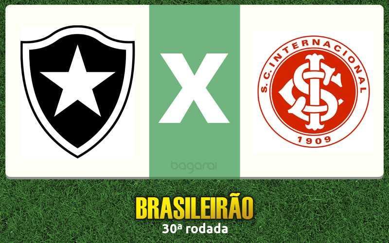 Brasileirão 2016: Botafogo vence Internacional por 1 a 0