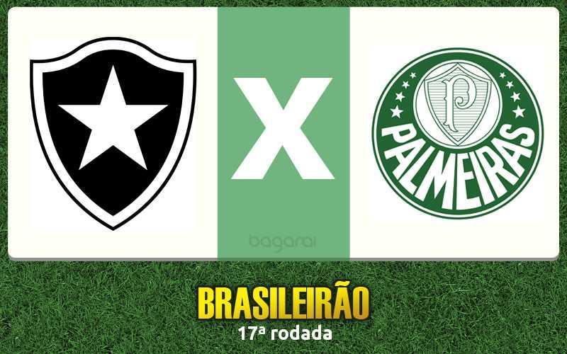 Botafogo faz 3 a 1 no Palmeiras pelo Brasileirão 2016
