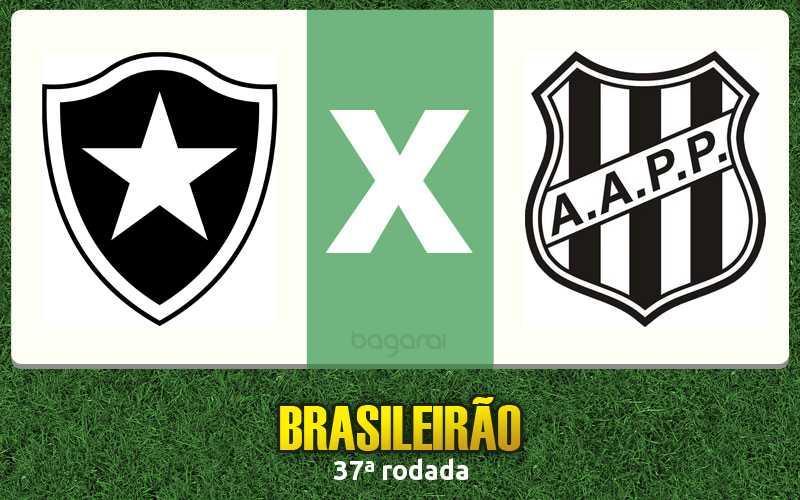 Brasileirão 2016: Botafogo e Ponte Preta empatam em 1 a 1 na 37ª rodada
