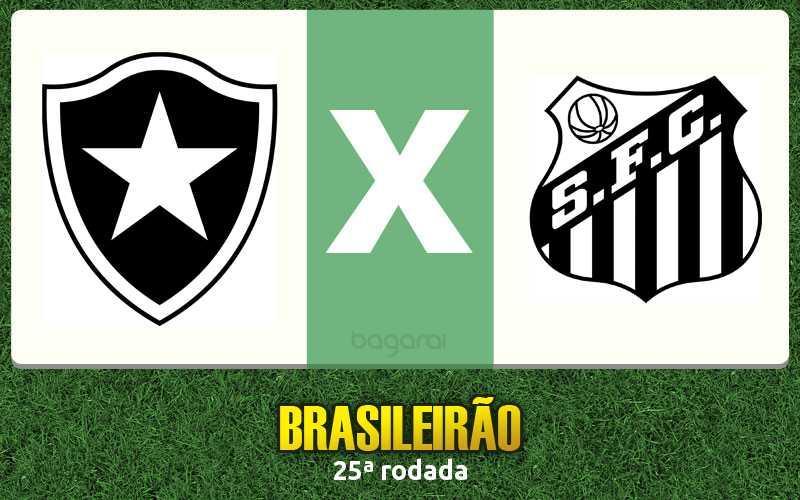 Santos vence Botafogo pela 25ª rodada do Campeonato Brasileiro 2016