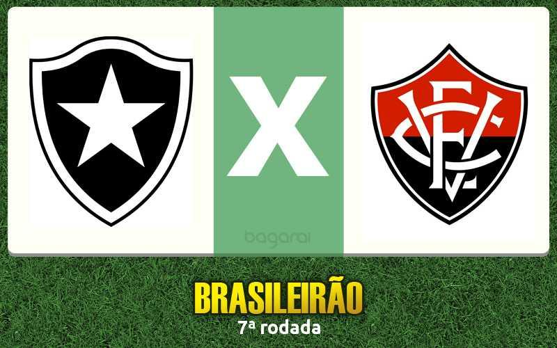 Botafogo e Vitória empatam na  7ª rodada do Brasileirão 2016