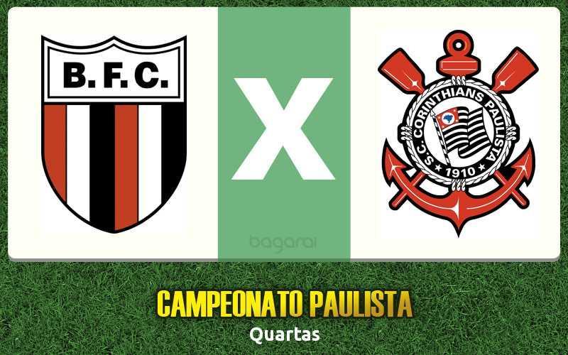 Botafogo-SP empata com Corinthians pelo Campeonato Paulista 2017