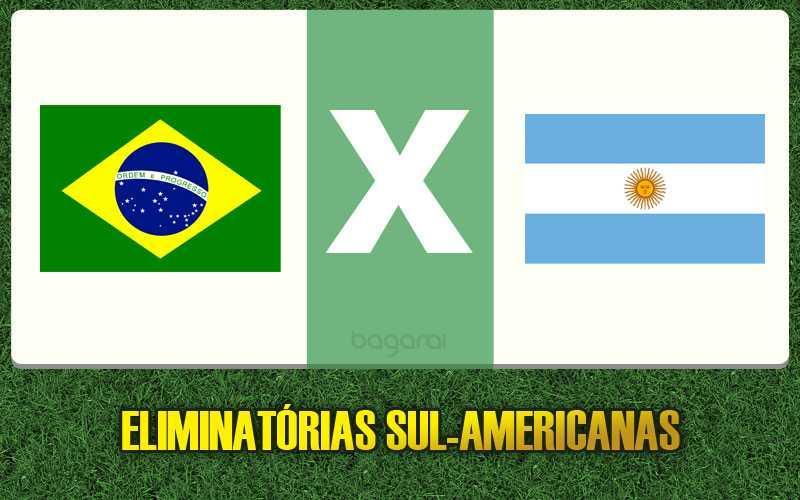 Eliminatórias 2016: Brasil vence Argentina por 3 a 0
