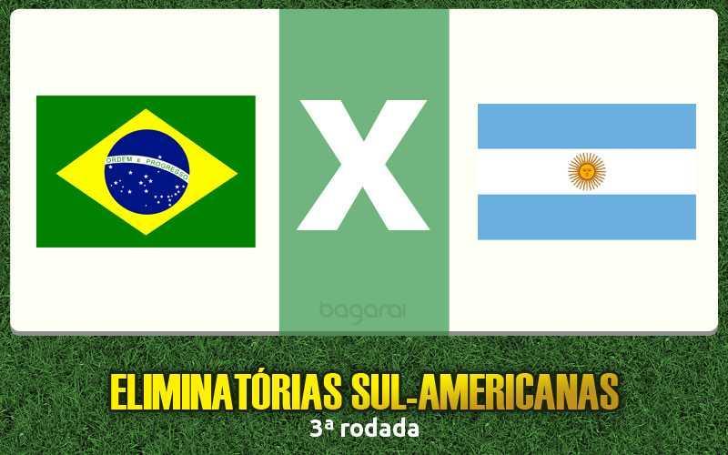 Eliminatórias 2015: Assistir Brasil e Argentina só na sexta; entenda