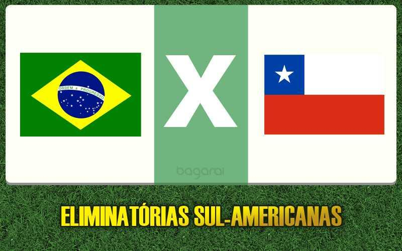 Resultado do jogo: Chile vence Brasil pelas Eliminatórias da Copa