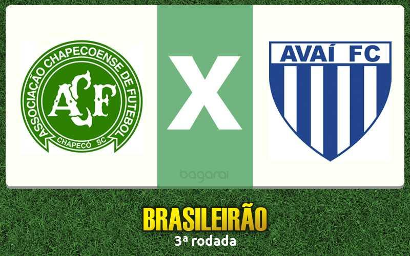 Brasileirão 2017: Chapecoense vence Avaí por 2 a 0
