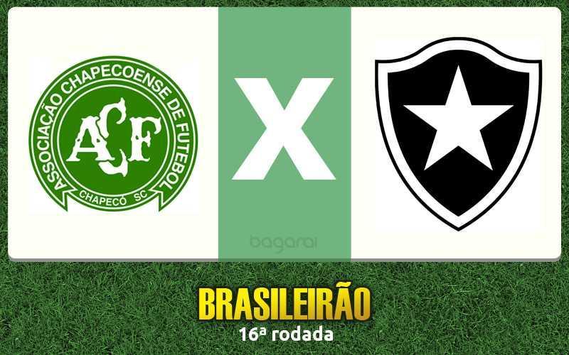Brasileirão 2016: Chapecoense ganha do Botafogo por 2 a 1