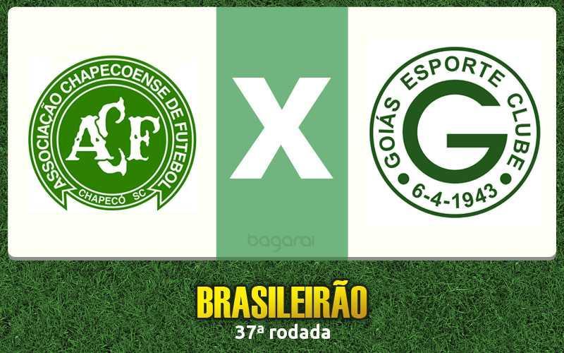 Goiás faz 3 a 1 no Chapecoense pelo Campeonato Brasileiro 2015