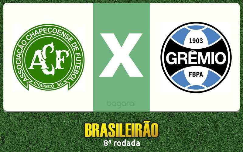 Chapecoense e Grêmio empatam na 8ª rodada do Campeonato Brasileiro 2016