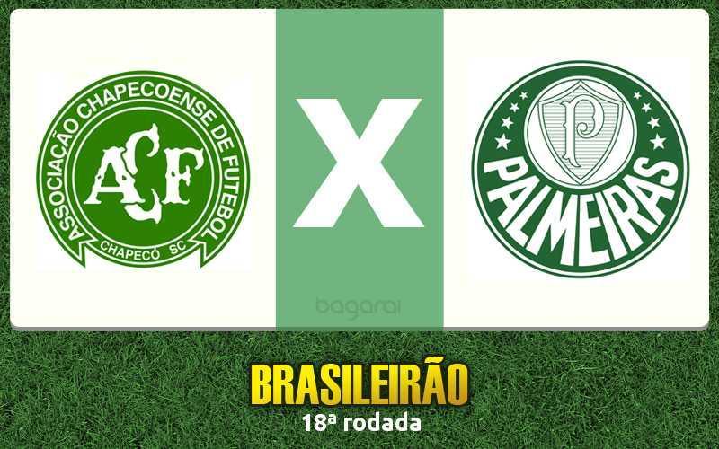 Chapecoense e Palmeiras ficam no 1 a 1 pelo Brasileirão 2016