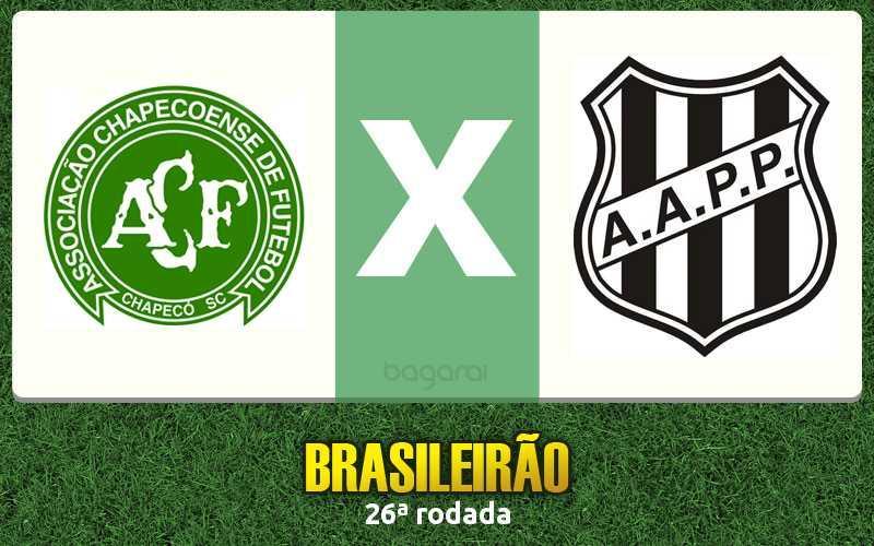 Brasileirão 2016: Chapecoense e Ponte Preta empatam em 2 a 2
