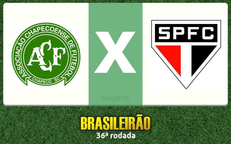 Campeonato Brasileiro 2016: Chapecoense ganha do São Paulo FC por 2 a 0 na 36ª rodada