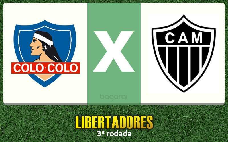Colo-Colo e Atlético-MG ficam no 0 a 0 pela Libertadores 2016