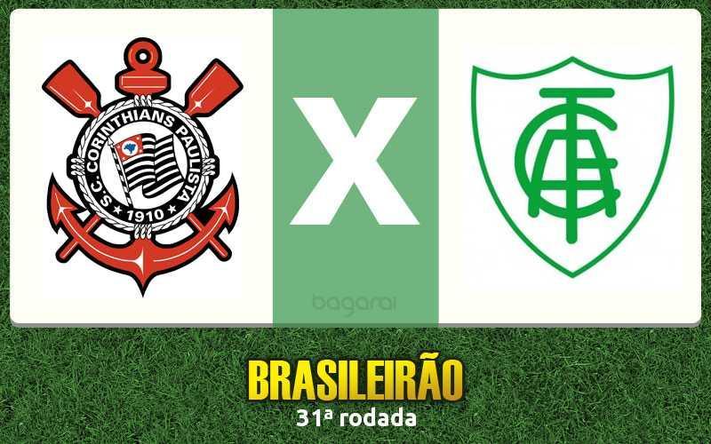 Campeonato Brasileiro 2016: Corinthians vence América-MG por 2 a 0