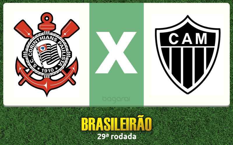 Corinthians e Atlético Mineiro empatam em 0 a 0 pelo Brasileirão 2016