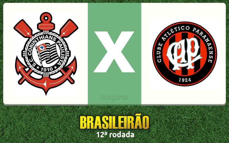Brasileirão 2015: Corinthians ganha do Atlético Paranaense por 2 a 0