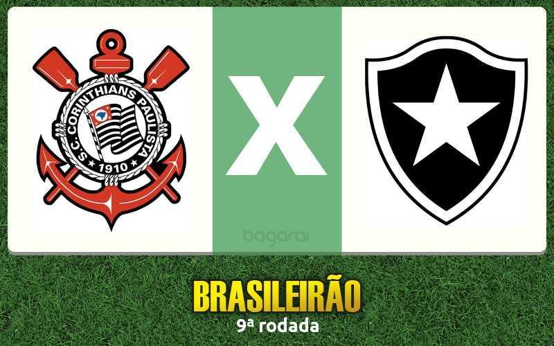Brasileirão 2016: Corinthians faz 3 no Botafogo pela 9ª rodada