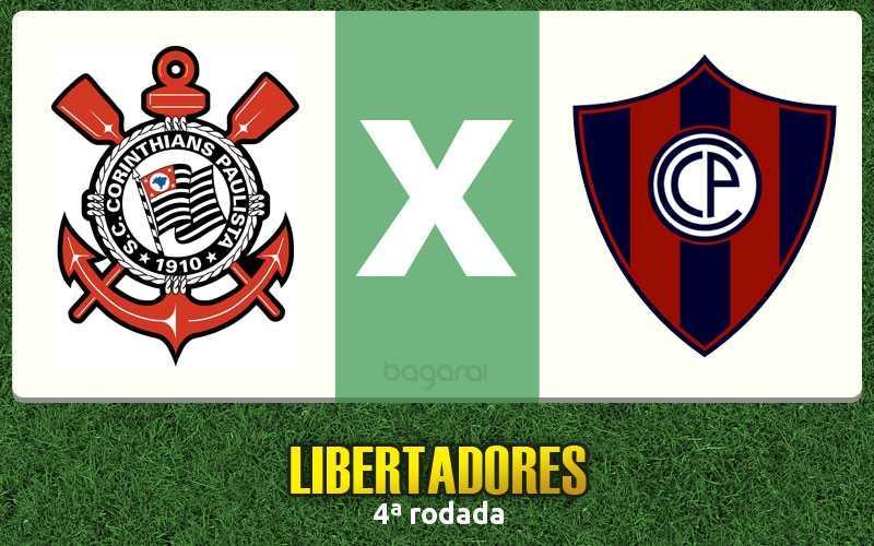 Resultado do jogo: Corinthians faz 2 em cima do Cerro Porteño pela Libertadores 2016